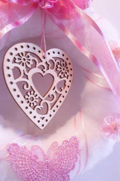 valentýnský věnec