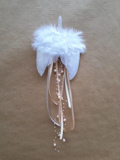 Andělská křídla – lososové perličky