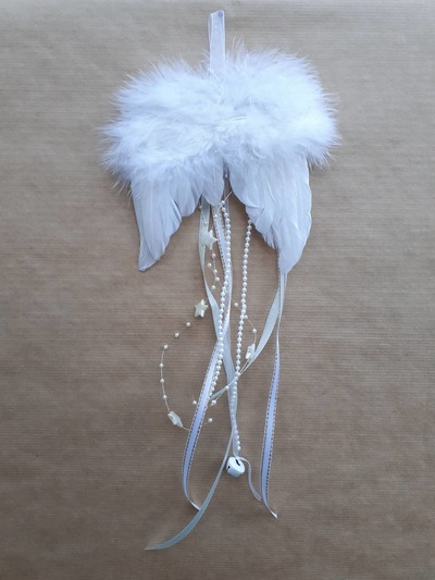 Andělská křídla – bílá rolnička